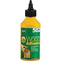 Everbuild 502  All Purpose Wood Adhesive Bottle 75ml