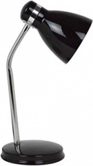 Madrid - Black - Desk Lamp - E27 - 1 pk - in glossy retail box