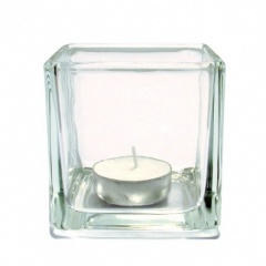 7.5cm Glass Tealight Holder