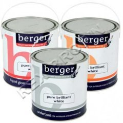 Berger Liquid Gloss Brilliant White 2.5Ltr