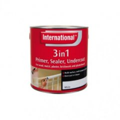 Discontinued: International Ret 3in1 Primer White 250mls
