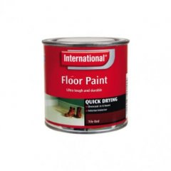 Discontinued: International Qd Floor Paint Tile Red 750mls