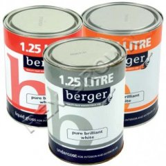 Berger Liquid Gloss Brilliant White 1.25Ltr
