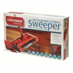 Kingfisher Rechargeable Cordless Swivel Sweeper