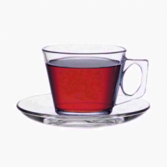 Pasabahce 6pc Vela Espresso Cup With Saucer Set