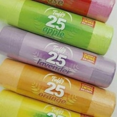 TUFFY ASSORTED SCENTS SWING BIN LINERS ROLL 25