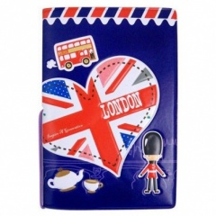 I Love London Silicon Travel Card Holder