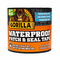 Gorilla Weatherproof Patch & Seal Tape 3Mtrs x 100mm (3044720)
