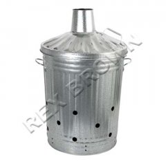 Tapered Incinerator Galvanised