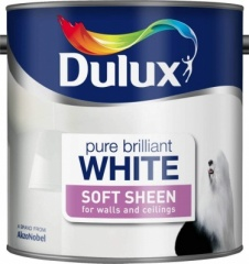 Dulux Soft Sheen Pbw 2.5Ltr