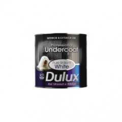 Dulux Professional Under Coat PBW 0.75Ltr