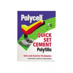 Polycell Quick Set Cement PolyFilla 2kg