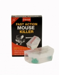 Rentokil Fast Action Mouse Killer Pk2