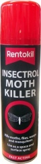 Rentokil Insectrol Moth Killer Spray 250ml (Red Cap)