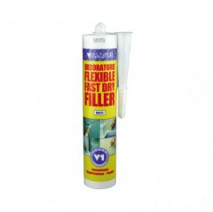 Valance V1 Dec Flexible Filler White  Fast Dry Caulk