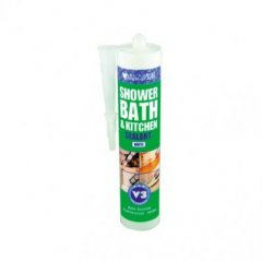 Evo-Stik Kitchen Shower and Bath Sealant White