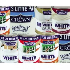 Discontinue :Crown Premium Silk PBW 6Ltr