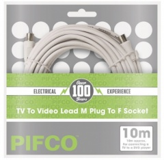 TV Fly Lead 10M M-F