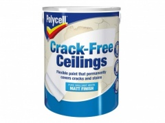 Polycell Crack Free Ceiling Smooth Matt 5Ltr