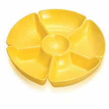 6 Section Snack Tray - Wholesalers of Hardware, Houseware & DIY Products