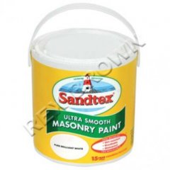 Sandtex Smooth Masonary Paint PBW 2.5Ltr