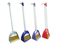 Pyramid Brush & Dustpan With Handle