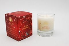 9cm x 7.5cm Merry Xmas Scented Candle