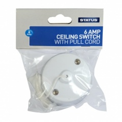 Status 6AMP 2 Way Ceiling Switch CDU