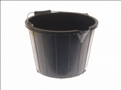 3 Gallon Black Buckets (Builders Bucket)