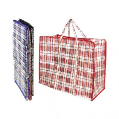 pvc zipped stripy storage bag large wholesalers of
