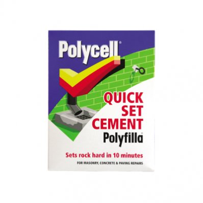 how to use quick set cement
