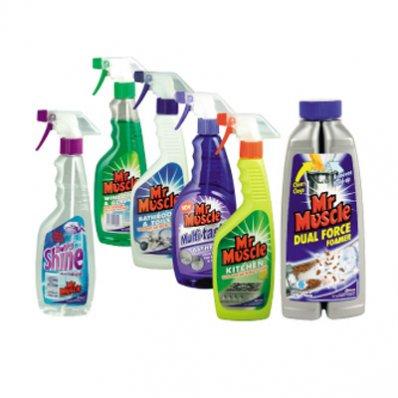Mr muscle 5 in 1 bathroom toilet cleaner 750mls for Mr muscle bathroom and toilet cleaner