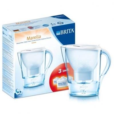 brita marella water filter with 3 cartridges wholesalers of hardware houseware diy products. Black Bedroom Furniture Sets. Home Design Ideas