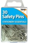 Tiger Safety Pins Steel 30pcs.