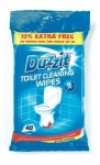 151 TOILET CLEANING WIPES 40pk