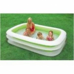INTEX 103'' x 69'' x 22'' 2 RING FAMILY POOL.