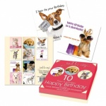 **Discontinued** 10 Lux Pets Birthday Card