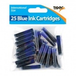 Bag of 25 Blue Cartridges