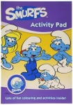 THE SMURFS ACTIVITY PAD
