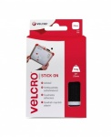 Velcro Brand Stick On Squares 25mm x 24 Sets black (EC60236)