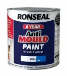 Ronseal Anti Mould Paint Silk 2.5ltr.