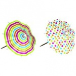 BC Mix It Drink Umbrellas 12pc Asstd Designs