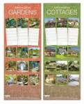 Super-slim Calendar: Gardens,Cottages,Coasts
