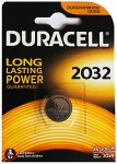 Duracell CR2032 Single Carded 3V Lithium Battery