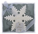 Prices Large Floating Snowflake Candle