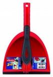 Vileda 2 In 1 Corner Ultrafine Dustpan & Hand Brush