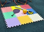 Kingfisher Fun & Games Play Mat Set 9pk [PLAYM]