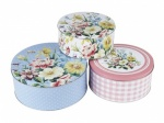 KA Cake Tins (Set of 3)  - English Garden