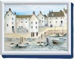 Small Tray Lux Handles - Cornish Harbour