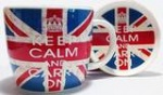 **Discontinued** Keep Calm Union Jack Mug & Coaster